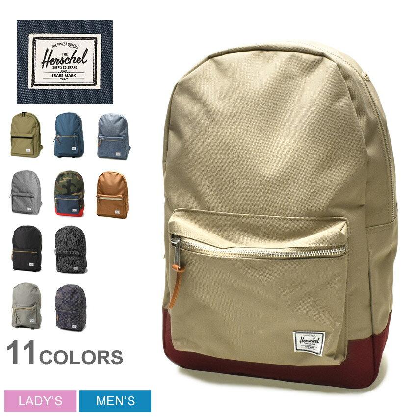 HERSCHEL SUPPLY ハーシェル サプライ セトルメント バックパック ブラック 全9色SETTLEMENT BACKPACK 10005デイパック リュックサック バッグ かばん 鞄メンズ(男性用) 兼 レディース(女性用)