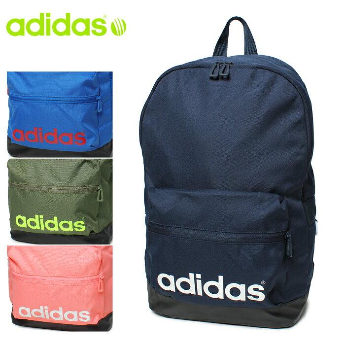 adidas neo アディダス ネオ BC リニアロゴ バックパック U BSH02 AZ0864 AZ0865 AZ0863 AZ0866 ブルー 他全4色ADIDAS バッグ リュックサック デイパック スポーツバッグメンズ(男性用)兼 レディース(女性用)