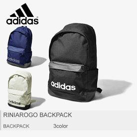 adidas アディダス バックパック リニアロゴ バックパック RINIAROGO BACKPACK FSX25 DT8638 DT8642 DT8640 メンズ レディース リュックサック ブランド アウトドア スクール スポーツ 通勤 通学 カバン 軽量 学校 鞄 黒 白