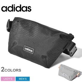 adidas アディダス ウエストバッグ リニアファニー パック GDJ26 メンズ レディース ブランド アウトドア ウエストポーチ スポーツ カバン 軽量 鞄 黒 ボディバッグ カジュアル