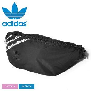アディダス オリジナルス ボディバッグ ADIDAS ORIGINALS ウエストバッグ メンズ レディース ブラック 黒 WAIST BAG IXO88 ウエストポーチ バッグ カバン ブランド カジュアル シンプル スポーツ スポ