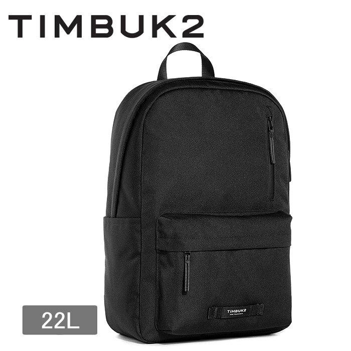 送料無料 ティンバックツー TIMBUK2 リュックサック ルーキーパック 22L ジェットブラック(ROOKIE PACK 55536114) ブランドバッグ アウトドア 通勤 通学 スポーツバッグ バックパック バック 黒