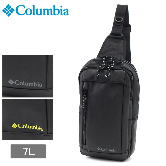 送料無料 コロンビア COLUMBIA ショルダーバッグ エルダンフォーク ボディバッグ ブラック 他全2色(COLUMBIA ELDEN FORK BODY BAG PU8155 010 011)バッグ バック カバン かばん 鞄 黒 黄