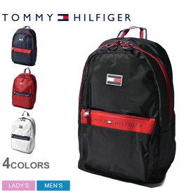 TOMMY HILFIGER トミーヒルフィガー バックパック レーダー バックパック RADAR BACKPACK TH-823 TC980RD9 メンズ レディース リュック カジュアル ロゴ ワンポイント A4サイズ 通勤 通学 クラシック モダン 黒 白 紺 赤