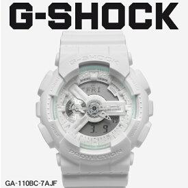 【最大500円OFFクーポン】【お取り寄せ商品】 送料無料 G-SHOCK ジーショック CASIO カシオ 小物 腕時計 ホワイトGA-110GA-110BC-7AJF メンズ 【メーカー正規保証1年】 【ラッピング対象外】