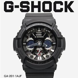 【お取り寄せ商品】 送料無料 G-SHOCK ジーショック CASIO カシオ 小物 腕時計 ブラックGA-201GA-201-1AJF メンズ 【ラッピング対象外】 【メーカー正規保証1年】