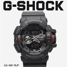 【お取り寄せ商品】 送料無料 G-SHOCK ジーショック CASIO カシオ 腕時計 ブラックGA-400GA-400-1BJF メンズ 【ラッピング対象外】 【メーカー正規保証1年】