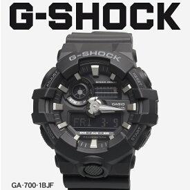 【お取り寄せ商品】 送料無料 G-SHOCK ジーショック CASIO カシオ 小物 腕時計 ブラックGA-700GA-700-1BJF メンズ 【ラッピング対象外】 【メーカー正規保証1年】