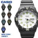 【メール便 送料無料】 CASIO カシオ 腕時計 MRE-200H 全8色1B2 1E 2B 2B2 3B 4B 7E 9Bチープカシオ ウォッチ 時計 カ…