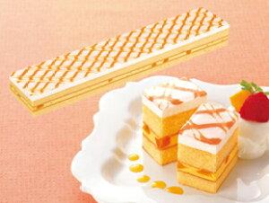 フリーカットケーキ マンゴー 475g フレックフルーツ味 果物味 スイーツ おやつ デザート 洋菓子 家庭用 業務用 [店舗にもお勧め] [食卓にもお勧め] [冷凍食品] ホワイトデー お返し
