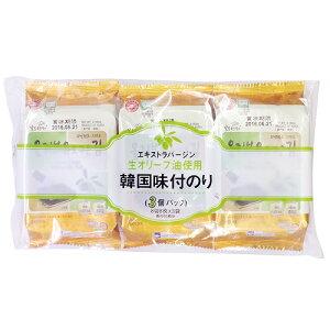 韓国産味付のり 8切 × 3袋入 関口海苔店韓国料理 海苔 トッピング 業務用 [常温商品]