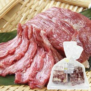 馬肉 ( 生食用 )( 馬脂注入馬刺し ) 100g 小田桐ばさし 業務用 [冷凍食品]