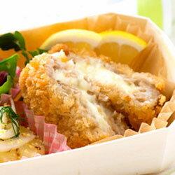 ソースdeメンチカツ<チーズ>75g×10個【MCC】「おかず 非常食 保存食 冷凍食品 業務用」【RCP】