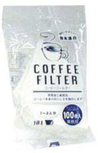 コーヒーフィルター白F101 イデシギョーコーヒー グッズ 器具 休憩時間 一息 飲み物 ドリンク カフェイン ドリップ 家庭用 業務用 [店舗にもお勧め] [食卓にもお勧め] [常温商品]