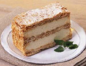 ミルフィーユ 約 75g × 6個入 味の素カスタードクリーム ケーキ 6人前 6人分 カット済 スイーツ デザート おやつ 洋菓子 家庭用 業務用 [店舗にもお勧め] [食卓にもお勧め] [冷凍食品] ホワイト