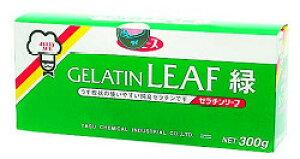 板ゼラチン (緑) 300g 野洲化学ゼリー 製菓材料 業務用 [常温商品]