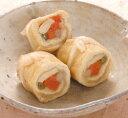 味付ハーフしのだ巻340g(10個入)【羽二重豆腐】「和風料理 冷凍食品 業務用」【RCP】