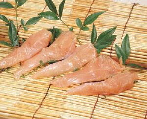 チキンささみIQF ( 筋なし ) 1kg 国産ササミ 鶏肉 トリニク 生肉 調理 料理 まとめ買い 大容量 サラダ まとめ買い 大容量 家庭用 業務用 [店舗にもお勧め] [食卓にもお勧め] [冷凍食品]