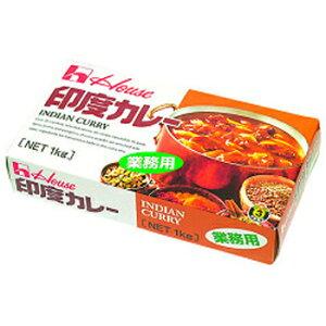 印度カレー 1kg (固形) 辛3 (中辛) ハウス食品 大容量 まとめ買い 業務用 [常温商品]