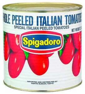スピガドーロ トマトホール 1号缶 モンテ缶詰 ホールトマト とまと 野菜 業務用 [常温商品]