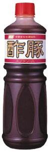 富士 酢豚ソース 1130g 富士食品工業約1.1kg 中華料理 業務用 [常温商品]