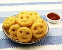 スマイルポテト4LB(約1.8kg 約105個入) 日本マッケインフーズ可愛い おしゃれ 揚げ物 おやつ スナック 子供用 子ど…