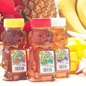 はちみつ ハワイ産 約 226g ( 8oz ) HAWAIIAN RAINBOW BEESオーガニック 純粋 非加熱 天然100% 無添加 酵素 ハワイアンレインボービーズ [選べる3種類] [Z-FOODSオリジナル品] 母の日 2019 プレゼント ギ