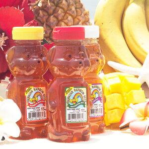 はちみつ ハワイ産 約 340g ( 12oz ) HAWAIIAN RAINBOW BEESオーガニック 純粋 非加熱 天然100% 無添加 酵素 ハワイアンレインボービーズ [選べる3種類] [Z-FOODSオリジナル品] 母の日 2019 プレゼント ギ