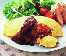 ふんわり卵のオムライス 1食分 ニッスイ1人前 1人分 オムレツ 夕飯 簡単 卵料理 玉子料理 タマゴ料理 たまご料理 洋食 一人分 ふわふわ ふわとろ 美味しい 昼食 ランチ 簡単 おかず [冷凍食品]