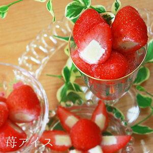 苺アイス 30粒入 ヒカリ乳業デザート おやつ 一口サイズ かわいい プチギフト お菓子 個包装 小分け 個袋 おしゃれ [店舗にもお勧め] [食卓にもお勧め] [冷凍食品] ホワイトデー お返し 子供