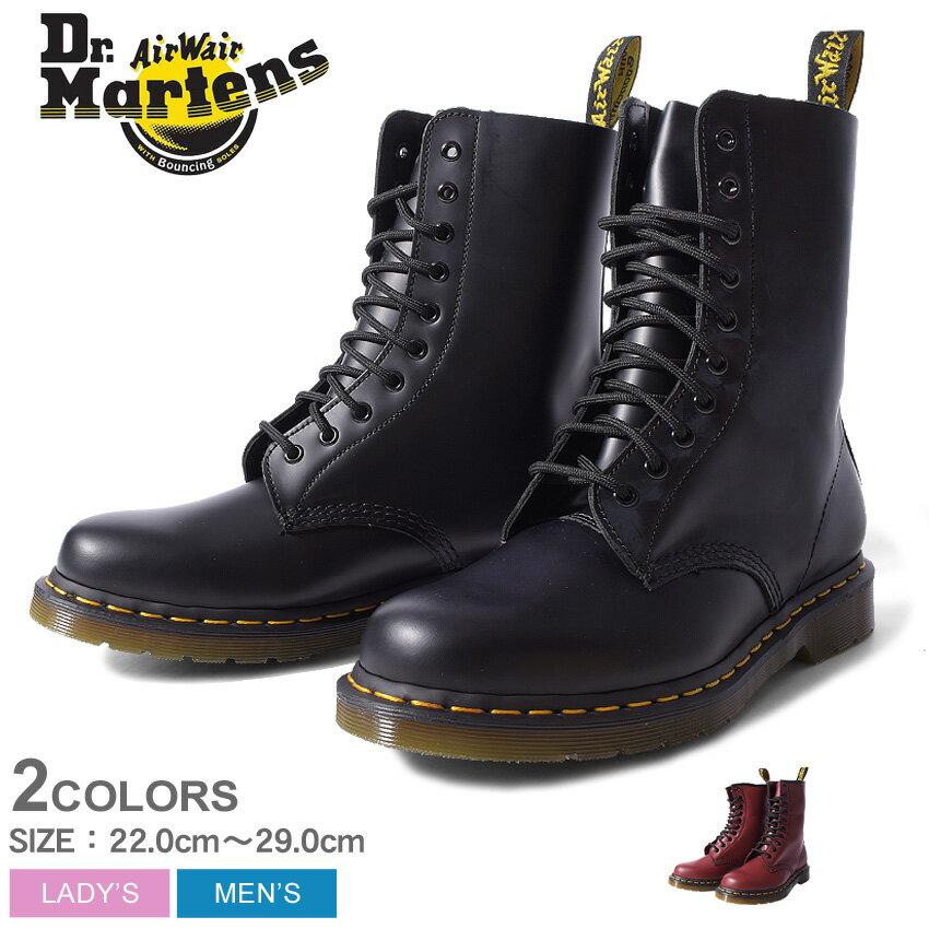 1490 10EYE BOOT BLACK 11857001