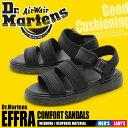 全国送料無料 ドクターマーチン Dr.Martens エフラ ストラップ サンダル ブラックDR.MARTENS EFFRA STRAP SANDAL 211…