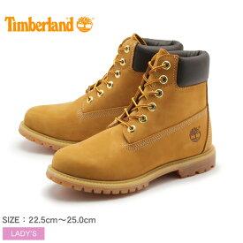 ティンバーランド ウィメンズ 6インチ プレミアム ウォータープルーフ ブーツ ウィートヌバック (timberland womens 6inch premium waterproof boot) 防水 レザー 本革 おしゃれ ワーク カジュアル シューズ レディース 女性 誕生日