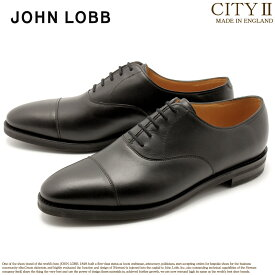 JOHN LOBB ジョンロブ ドレスシューズ ブラック シティ2 CITYII 00801QL 1R 黒 革靴 オックスフォード フォーマル カジュアル ビジネス レースアップ オフィス スーツ レザー 紳士靴 革 メンズ 男性用 父の日