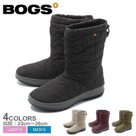 ボグス BOGS スノーブーツ スノーデイ ミッド SNOWDAY MID 72238 メンズ レディース 黒 赤 ブラック グレー レッド ブラック カーキ 靴 シューズ ブーツ 雪 防水 ウィンター 防寒 長靴 かわいい おしゃれ 誕生日 プレゼント 結婚祝い ギフト