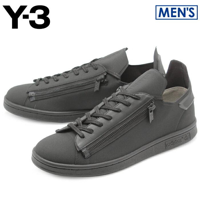 【最大1000円OFFクーポン】アディダス Y-3 スタンジップ ブラック×コアブラック (adidas y-3 yohji yamamoto stan zip CG3207 ヨウジヤマモト スタンスミス モード カジュアル シューズ 靴 メンズ 男性 誕生日プレゼント 結婚祝い ギフト おしゃれ