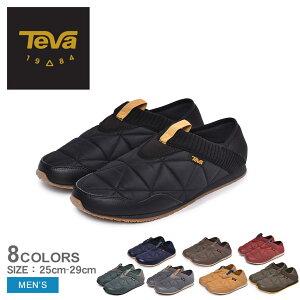 【今だけクーポン配布中】TEVA テバ スリッポン エンバーモック EMBER MOC メンズ 靴 シューズ スニーカー カジュアルシューズ ローカット カジュアル アウトドア 黒 赤 ブラック レッド グレー