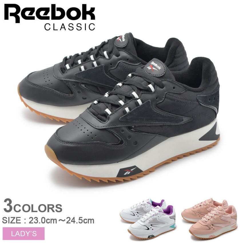 【クーポン配布中】 REEBOK リーボック スニーカー クラシックレザー 90S CL LTHR ATI 90S W DV5376 DV5377 DV5378 レディース 誕生日 プレゼント ギフト 厚底 靴