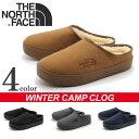 全国送料無料 ザ ノースフェイス キャンプ クロッグ(the north face winter camp clog NF51651)もこもこ 冬 防寒 暖かい...