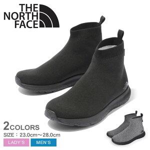 ザ ノース フェイス ベロシティ ニット ミッド GORE-TEX インビジブル フィット レインシューズ THE NORTH FACE VELICITY KNIT MID GORE-TEX INVISIBLE FIT メンズ レディース NF51997 ブラック 黒 グレー シューズ