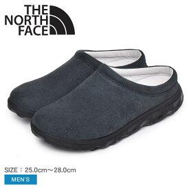 【割引クーポン配布】ザ ノースフェイス クライミング ディバーシティ II クロッグサンダル THE NORTH FACE メンズ NF52004 ブラック 黒 ノースフェース 靴 ブランド シューズ アウトドア カジュアル サンダル レザー 吸収性 デイリー 誕生日 プレゼント ギフト