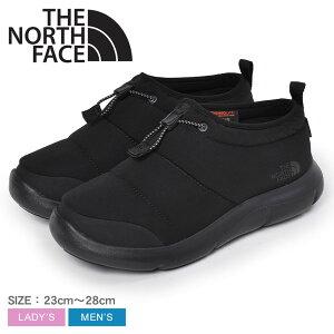 ザ ノース フェイス ヌプシ リフティ モック WP モックシューズ THE NORTH FACE NUPTSE LIFTY MOC WP メンズ レディース NF52082 黒 ブラック 靴 シューズ アウトドア フェス レジャー 雪 冬 キャンプ ミド