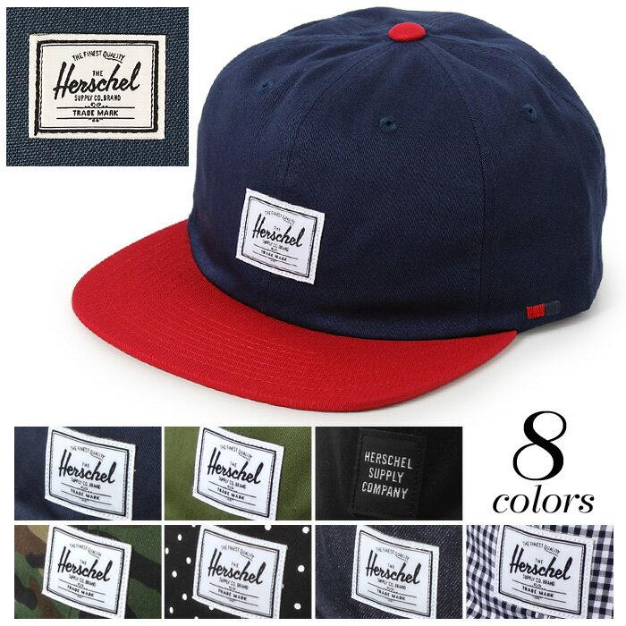 【クーポン配布中】ハーシェル サプライ アルバート キャップ (HERSCHEL SUPPLY ALBERT CAP) 帽子 ロゴ ベルト カジュアル メンズ レディース ユニセックス 誕生日プレゼント ギフト おしゃれ 夏 UV