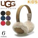 アグ オーストラリア キッズ クラシック イヤマフ (UGG KIDS CLASSIC EARMUFF U1564) 手袋 レザー 本革 ウィンター 防寒 暖かい かわいい 小物 ジュニア 子供 男の
