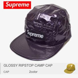af5bea09 【メール便可】【SUPREME】 シュプリーム 帽子 グロッシー リップストップ キャンプ キャップ GLOSSY