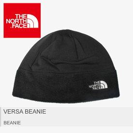 【クーポン配布中】ノースフェイス THE NORTH FACE ザ ノースフェイス 帽子 バーサビーニー VERSA BEANIE NN41801 メンズ レディース 黒 ブラック アウトドア ニット帽 ワッチキャップ 防寒 誕生日 プレゼント ギフト