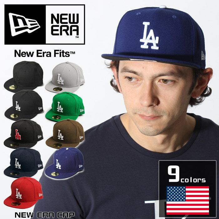 ニューエラ NEW ERA キャップ ロサンゼルス ドジャース 野球帽 帽子 ベースボール メジャーリーグ スポーツ カジュアル 刺繍 ロゴ メンズ レディース ユニセックス 誕生日プレゼント ギフト おしゃれ 夏