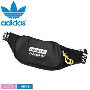 今だけ使えるクーポン対象★アディダス オリジナルス RYV ウエストバッグ ウエストポーチ adidas メンズ レディース ブラック 黒 ボディバッグ ヒップバッグ カバン ブランド シンプル スポー