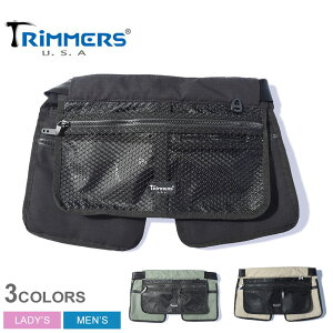 トリマーズ ガーデニア ボディバッグ TRIMMERS GARDENIA メンズ レディース 100-TRM-000007 ブラック 黒 オリーブ ベージュ 鞄 バッグ ウエストバッグ ウエストポーチ チョークバッグ ブランド カジュ