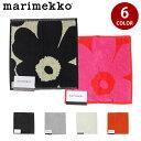 【割引クーポン配布中】【メール便可】 マリメッコ ウニッコ ミニタオル 25×25cm (marimekko unikko mini towel) フ…